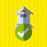 Banking and finance design. Illustration eps10 graphic Stock Photo