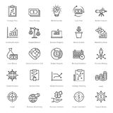 Banking and Finance Line Vector Icons 11. You can easily integrate these Banking and Finance Line Vector Icons in your design projects related to business Stock Images