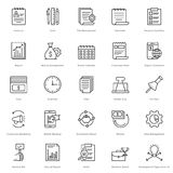 Banking and Finance Line Vector Icons 24. You can easily integrate these Banking and Finance Line Vector Icons in your design projects related to business Stock Photography
