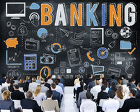 Banking Finance Money Savings Economy Concept. Banking Finance Money Savings Economy Stock Photos