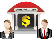 Banking and Finance stock exchange. Illustration Royalty Free Stock Photography