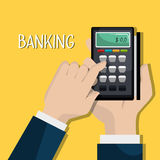Banking and finances design. Vector illustration eps10 graphic Stock Image