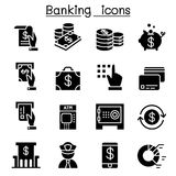 Banking & Financial icon set. Illustration Graphic Design Royalty Free Stock Images