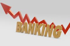 Banking growth concept Stock Image