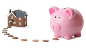 Banking at home Royalty Free Stock Photo