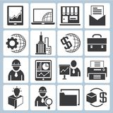 Banking icons. Set of 16 banking icons, financial icons Royalty Free Stock Images