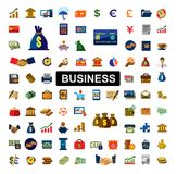 Banking icons Stock Photos