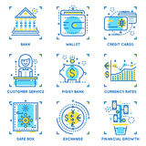 Banking Linear Concept Stock Images