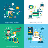 Banking Marketing Icons Set