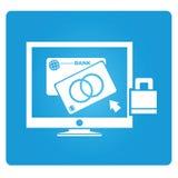 Banking online stock illustration