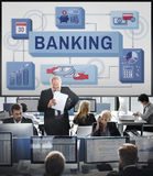 Banking Saving Money Management Account Concept Royalty Free Stock Photography