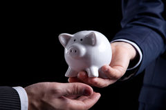 Banking service Royalty Free Stock Images