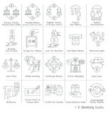 Banking service Icons. Stock Photos
