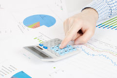 Banking, taxing and all things related with world of finance Stock Images