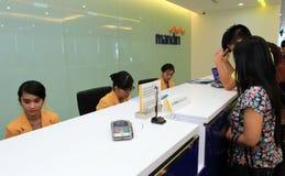Banking transaction Royalty Free Stock Image