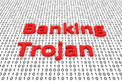 Banking trojan Royalty Free Stock Photos