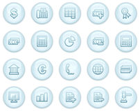 Banking web icons Royalty Free Stock Photography