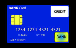 Bankkaart 2 Royalty-vrije Stock Foto
