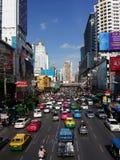 Bankkok-Stadt lizenzfreie stockbilder