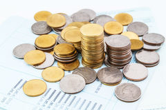Bankkontobuch Lizenzfreies Stockbild