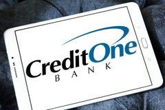 Banklogo för kreditering en Royaltyfri Bild