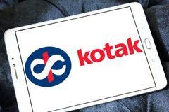 Banklogo Kotak Mahindra Lizenzfreies Stockbild