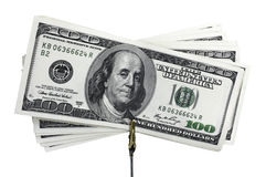 banknotów dolary s u Fotografia Royalty Free