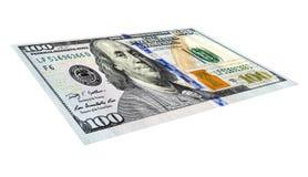 banknotów dolary s u dolar banknotów sto Fotografia Royalty Free