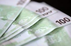 banknotów euro sto jeden Obrazy Royalty Free