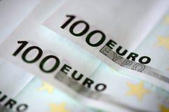 banknotów euro sto jeden Zdjęcia Stock