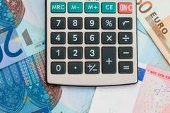 banknotów waluty europejczyk Obrazy Stock
