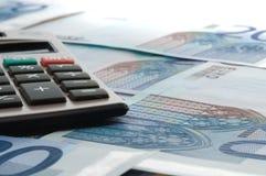 banknotów waluty europejczyk Zdjęcie Royalty Free