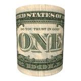 banknot robi bóg dolarowemu zaufaniu jeden s u ty Zdjęcia Royalty Free