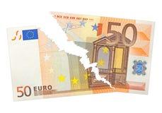 Banknot strzępiący Obraz Stock