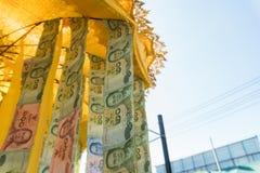 banknot tajlandzki Zdjęcia Royalty Free