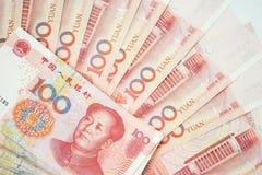 banknot waluta porcelanowa chińska zauważa s Juan Fotografia Stock