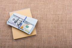 Banknote bundle of US dollar Royalty Free Stock Image