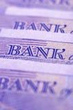 Banknote close-up Stock Photos
