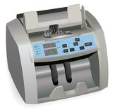 Banknote counter Stock Photo