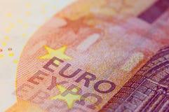 Banknote des Euro 10 Stockbilder