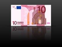 Banknote des Euro 10 Stockfotos