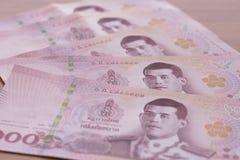 Banknote Hundred Thai Baht.  Stock Photo