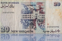 Banknote from Israel Royalty Free Stock Images