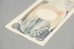Banknote of the Japanese 1000 Yen Royalty Free Stock Photography