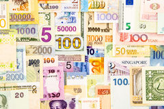 Banknote money cash and currency paper Stock Photos