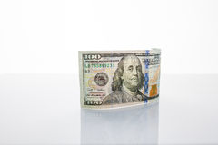 Banknote one hundred dollars Royalty Free Stock Photos