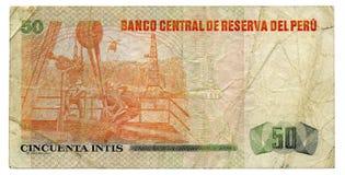 Banknote Peru Stock Photos