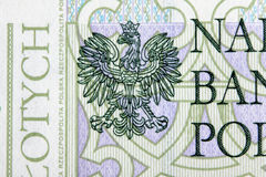 Banknote 100 PLN Stock Image