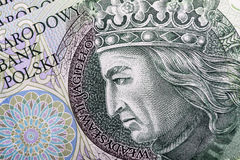 Banknote 100 PLN Stock Images