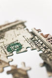 Banknote Puzzle Stock Photos